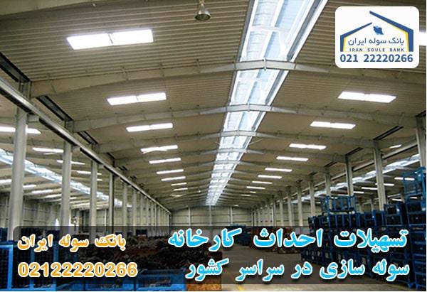 تسهیلات چند میلیاردی برای احداث کارخانه